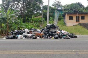 Los usuarios prefieren pagar el agua dejando morosa la recolección de la basura. Fotos: Diómedes Sánchez.