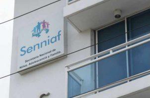 Fachada de la sede del Senniaf