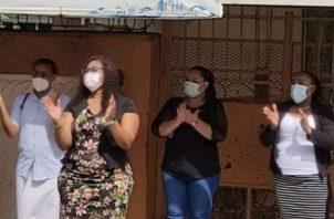 También han paralizado las clases virtuales. Foto: Diómedes Sánchez.