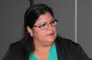 Tania Sterling, fiscal especial anticorrupción del Ministerio Público de Panamá, fue denunciada ayer. Archivo.