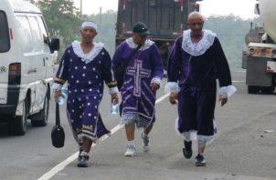 Se pide a los devotos evitar las peregrinaciones. Fotos: Diómedes Sánchez S.