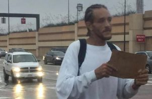 Delonte West en plena calle.