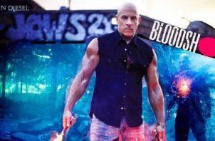 Vin Diesel ha sido reconocido por su papeles en las cintas de acción. Foto: Instagram