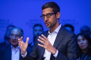 En la imagen, el CEO de Alphabet, Sundar Pichai.