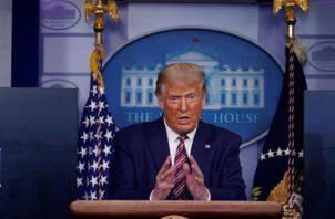Desde su campaña electoral de 2016, Donald Trump se ha negado a publicar sus declaraciones de impuestos, algo que han hecho todos sus antecesores a lo largo de la historia. FOTO/EFE