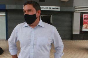 Carlos Duboy, exgerente de Tocumen S.A., ayer durante su comparecencia al Ministerio Público. Víctor Arosemena