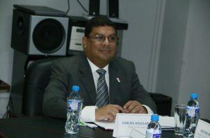 Ministro de Cultura, Carlos Aguilar.