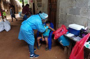 Los casos activos de coronavirus suman 21.052 en 208 días de pandemia. Foto cortesía Minsa