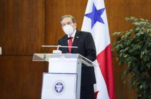 """El Presidente Laurentino Cortizo dijo que el proyecto quedaba """"objetado en su conjunto"""" por razones de """"inconveniencia e inexequibilidad""""."""
