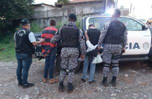 Ambos hombres mantenían orden de aprehensión emitida por el Ministerio Público (MP). Foto: Eric A. Montenegro.