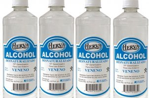 El Herva Alcohol es fabricado por la empresa Nacional Química, S.A.