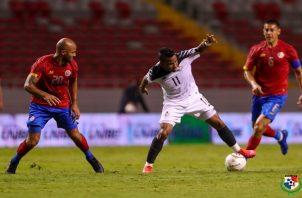 Panamá jugó su primer partido tras la pausa por el coronavirus.