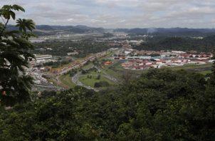El área de las riberas del Canal de Panamá siguen siendo las más protegidas del país. Foto. MiAmbiente