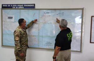 Los operativos de búsqueda de la embarcación se mantienen por todas las costas desde la Comarca Guna Yala hasta el distrito de Donoso en la Costa Abajo de Colón.