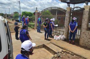 La doctora Karina Granados, coordinadora de los EUT manifestó que continuarán con esta labor a lo largo de toda la provincia, con el apoyo de las autoridades locales, líderes comunales y funcionarios comprometidos. FOTO/JOSÉ VÁSQUEZ