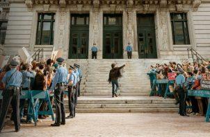 """""""El juicio de los 7 de Chicago"""", drama legal, se estrenará este fin de semana en Netflix. Foto: Netflix"""