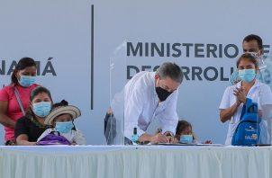 La ley fue sancionada ayer por el presidente de la República, Laurentino Cortizo.