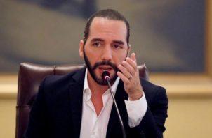 Nayib Bukele, presidente de El Salvador. EFE