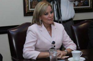 María Cristina González, ex directora de Migración.