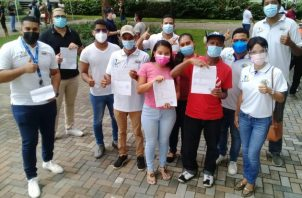 Miles de ciudadanos siguen inscribiéndose en el partido en formación Realizando Metas que impulsa Ricardo Martinelli.
