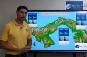 Pronóstico de Etesa en relación con la llegada al país de la Onda Tropical 42.