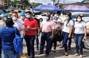 Realizando Metas traslada jornada de inscripción a Panamá Oeste. Foto: cortesía