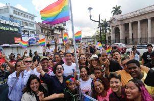 La comunidad gay lucha por sus derechos.