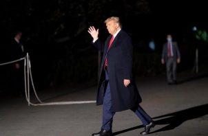 La decisión del presidente Donald Trump de publicar por adelantado su conversación en CBS se produce el mismo día en el que se celebra el último debate entre ambos candidatos antes de las elecciones del próximo 3 de noviembre. Foto:EFE