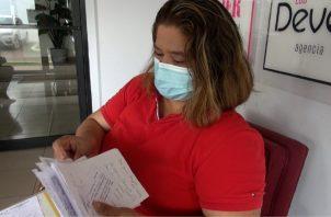 Yassima Núñez, madre de los cuatro niños, asegura que no duerme en paz, porque sabe que la mejoría de sus hijos, depende de este examen costoso. Juan Carlos Lamboglia.