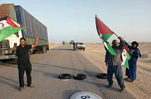 El gobierno argelino mantiene el blindaje total de sus fronteras terrestres, marítimas y aéreas. Foto: EFE.