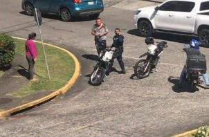 Las autoridades investigan el robo registrado en Hato Pintado, corregimiento de Pueblo Nuevo.