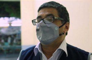 Director general de Intervenciones Estratégicas en Salud Pública de Perú, Aldo Lucchetti. Foto:EFE