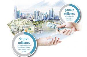 Para Panamá este es un tema que parece salir de control cuando el monto de los subsidios que entrega al año superan los mil 600 millones.
