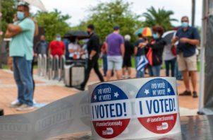 Todos los estados con proyecciones hasta las 8.30 de la noche hora local votaron por el mismo partido que en 2016, por lo que no ha habido grandes sorpresas. Foto: EFE