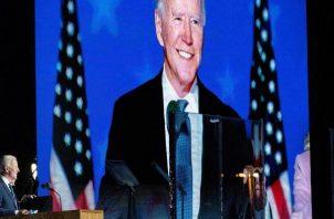 Joe Biden recibió protección del Servicio Secreto durante seis meses después de dejar la Casa Blanca, donde ejerció como vicepresidente de Barack Obama entre 2009 y 2017. Foto: EFE