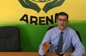 Rafael Rodríguez, presidente de Arena solicitó el apoyo a todos los naturalizados, empresarios y microempresarios extranjeros que residen en Panamá