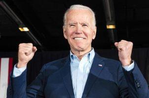 Joe Biden es el candidato presidencial que más votos ha ganado en la historia de  Estados Unidos. Foto: EFE