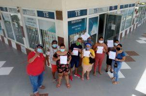 Personas en San Miguelito siguen sumándose a RM. Archivo