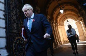 """Boris Johnson aseguró que tiene """"muchas esperanzas"""" de recibir la cantidad de vacunas reservada. Foto: EFE"""