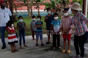 Decena de estudiantes se han visto afectados por las lluvias.