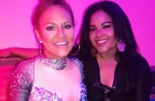 Sandra Sandoval junto a Susana Coronado. Instagram