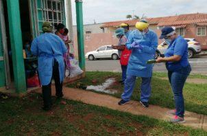 En Puerto Caimito hay 923 casos de coronavirus confirmados y en Barrio Colón, 820. Foto: Eric A. Montenegro