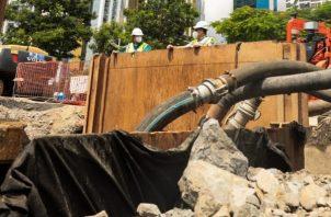 El programa Saneamiento de Panamá, agradeció a la ciudadanía  su comprensión y colaboración.