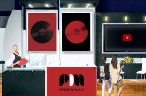Espacio de Press & Music en el evento. Foto: Cortesía