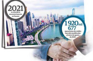La deuda de los panameños con los bancos asciende a 30 mil 392 millones de dólares.