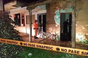 Pocas viviendas fueron afectadas por causa de las inundaciones que se registraron en la provincia de Herrera. Foto: Thays Domínguez