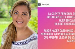Delyanne Arjona advirtió de la situación. Foto: Instagram
