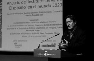 Presentación del Anuario del español en el mundo 2020. Según la reforma, el idioma castellano será relegado a una mera obligación académica. Foto: EFE.