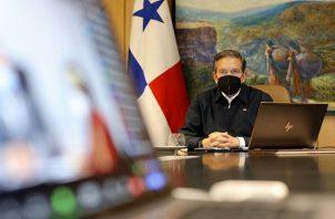 El Consejo de Gabinete fue dirigido por el presidente de la República, Laurentino Cortizo.
