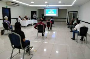 La reunión fue en la sede de la CAMCHI en la ciudad de David. Foto: José Vásquez.